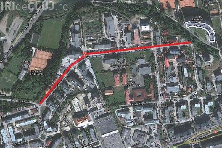 Strada Arinilor asfaltata de la un capat la altul