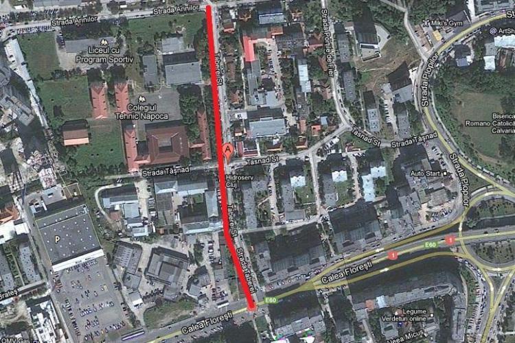 Strada Taberei din Manastur va fi modernizata! Lucrarile vor dura 6 luni