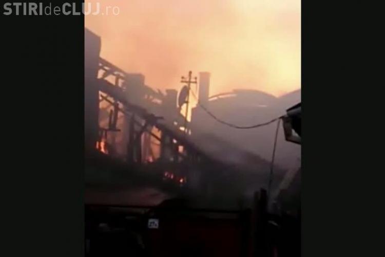 Incendiu dramatic pe strada Gospodarilor! Mai multe case au ars, iar proprietarii i-au acuzat pe pompieri VIDEO