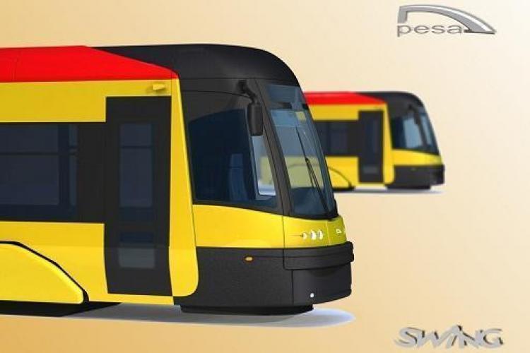 Noile tramvaie ce vor circula prin Cluj din iunie, dotate cu wireless