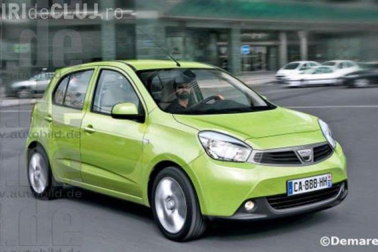 Cum arata Dacia Citadine, modelul de 5.000 de euro FOTO