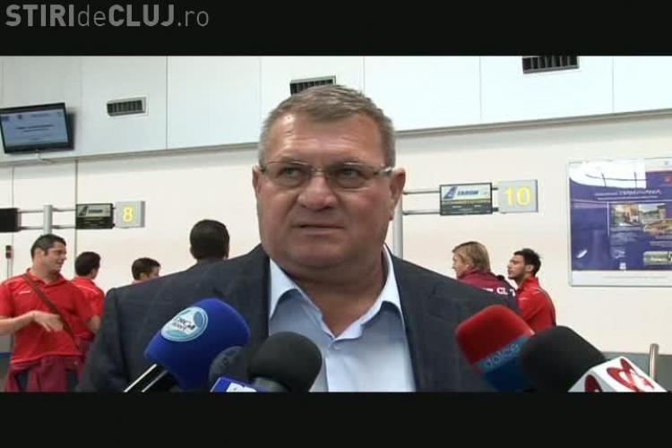 Iuliu Muresan: Il invit pe Gigi Becali sa ne inmaneze trofeul de CAMPIONI VIDEO