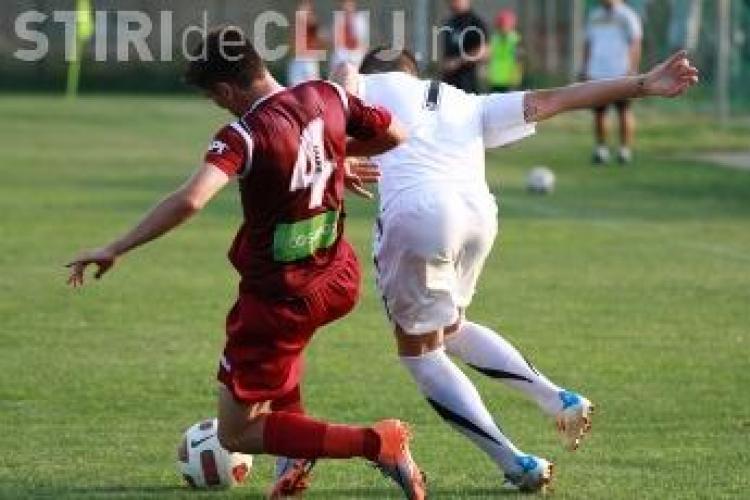 U Cluj 2 a invins CFR Cluj 2, scror 1-0