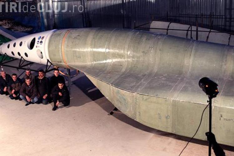 Primul avion supersonic romanesc care ajunge in spatiu, sponsorizat de o companie IT care lucreaza si la Cluj