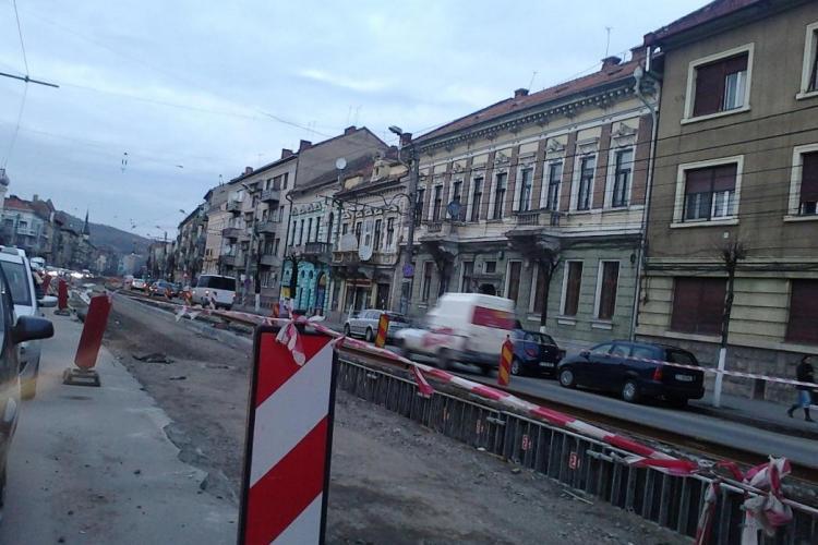 Autobuze deviate din cauza lucrarilor de pe strada Horea! Vezi autobuzele afectate