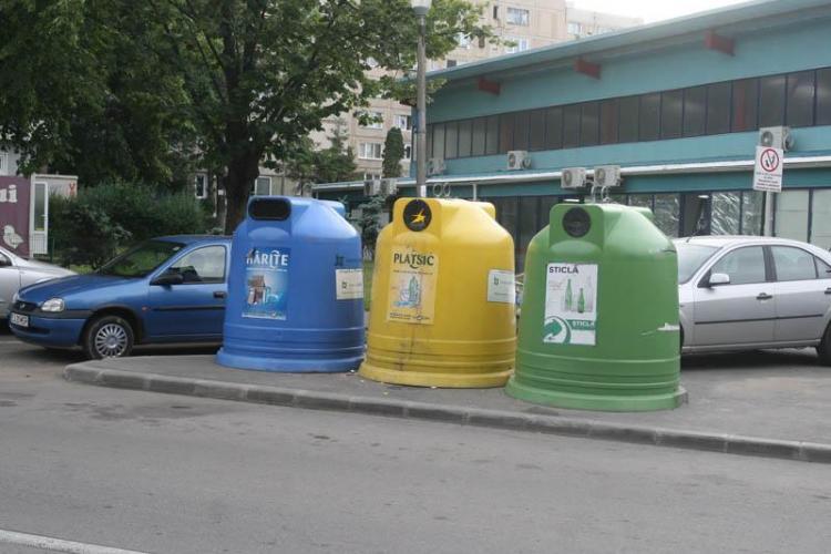 In Cluj-Napoca numai 6% din deseuri sunt reciclate! Consiliul Judetean Cluj saboteaza Primaria la fiecare pas. Clujenii sunt cei care pierd si platesc