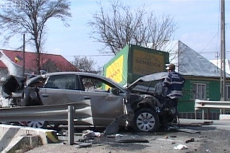 Accident la Manasturel! Doi copii de nici 2 ani au fost raniti grav FOTO