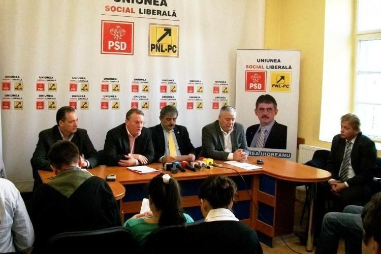 Vezi cine sunt candidatii USL pentru Consiliul Judetean Cluj