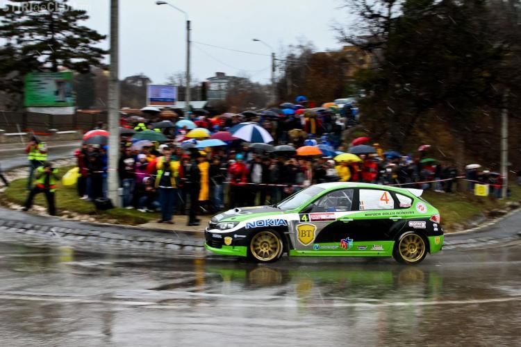 Start in forta pentru Napoca Rally Academy la Raliul Brasovului! Zapada i-a surprins pe piloti FOTO si VIDEO