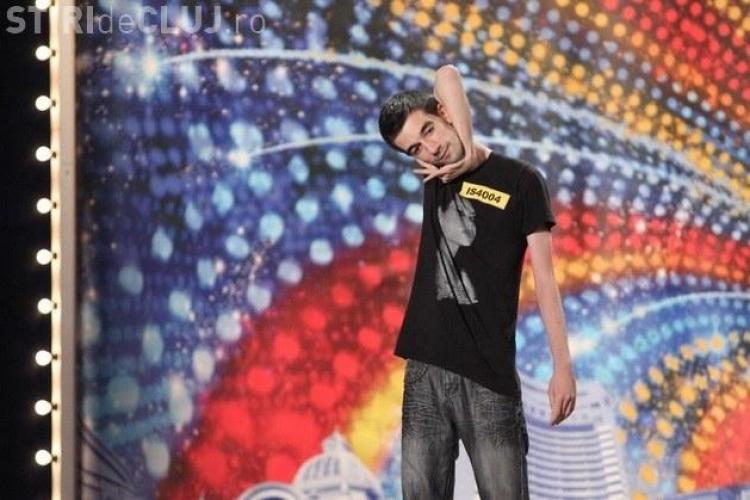 Mihai Toderica, omul de elastic de la Romanii au talent! Vezi ce a facut in semifinala