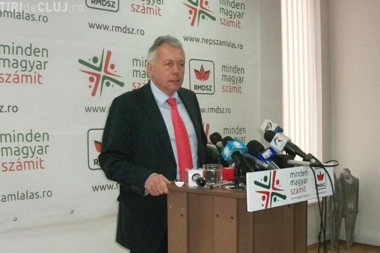Ungureanu a confirmat demisia lui Laszlo Borbely din Guvern