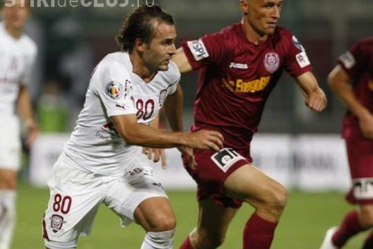 CFR Cluj - Rapid LIVE TEXT, 0-5! GOL Ciprian Deac VIDEO