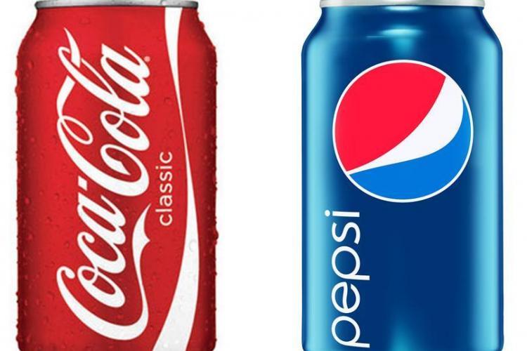 Cola-Cola si Pepsi, atacate in Parlamentul Romaniei