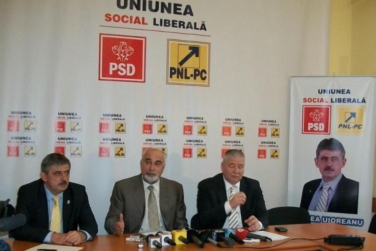 Emil Boc, atacat la Cluj-Napoca de liderii PNL: Boc fura de mic. A furat 2,5 milioane de euro de la primarii VIDEO