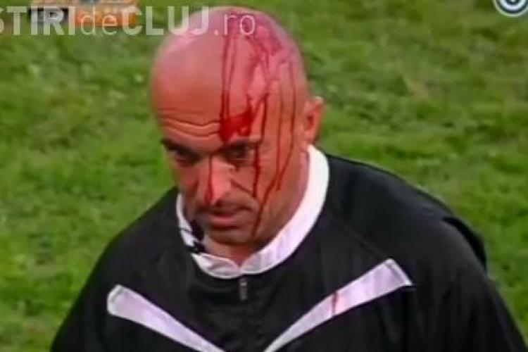 Imagini de groaza la un meci de fotbal din Bosnia VIDEO