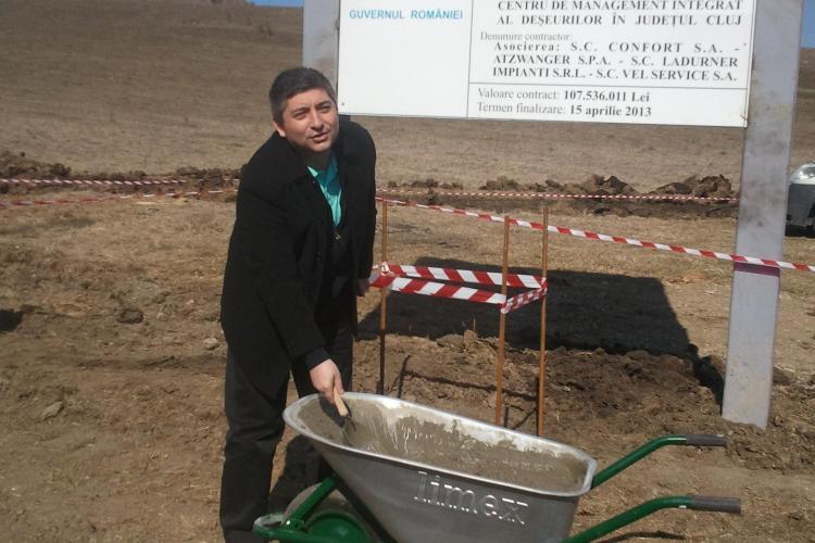 Eugen Veres ataca proiectul lui Tise: Statia de sortare a deseurilor, de la viitorul depozit de la Pata Rat, nu este suficienta pentru Cluj