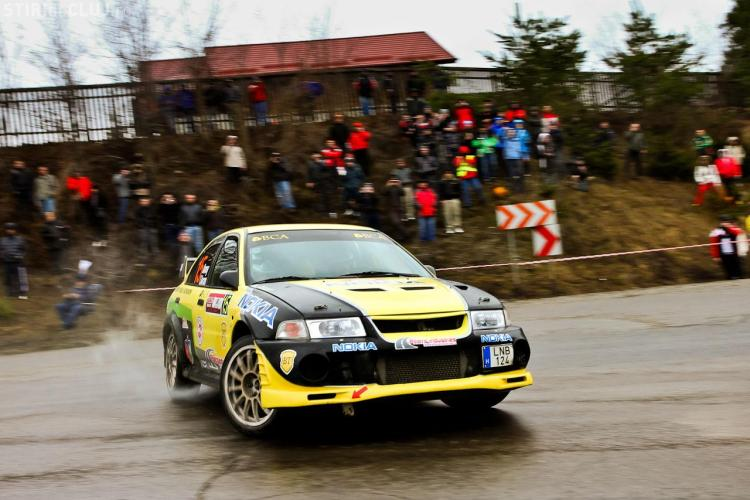 Echipajele Napoca Rally Academy, pe podium la Raliul Brasovului FOTO