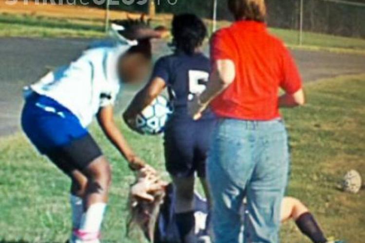 Bataie in fotbalul feminin VIDEO