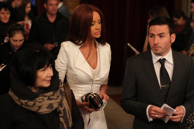 Bianca Dragusanu, ca o DIVA la concertul lui Nigel Kennedy de la Cluj FOTO de la eveniment