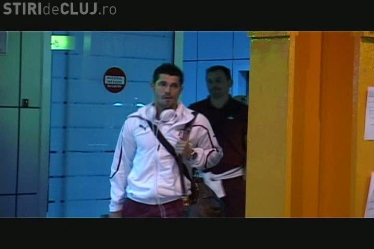Rapid a ajuns la Cluj! Ciprian Deac a facut pe ghidul pentru Razvan Lucescu VIDEO