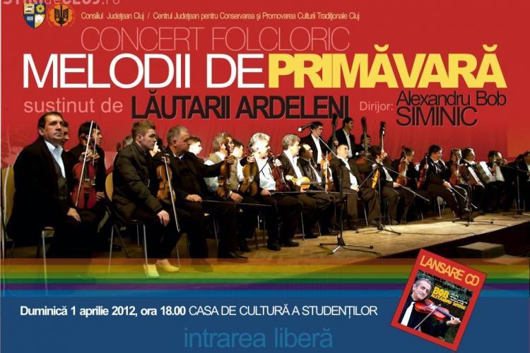 Concert folcloric pentru clujeni