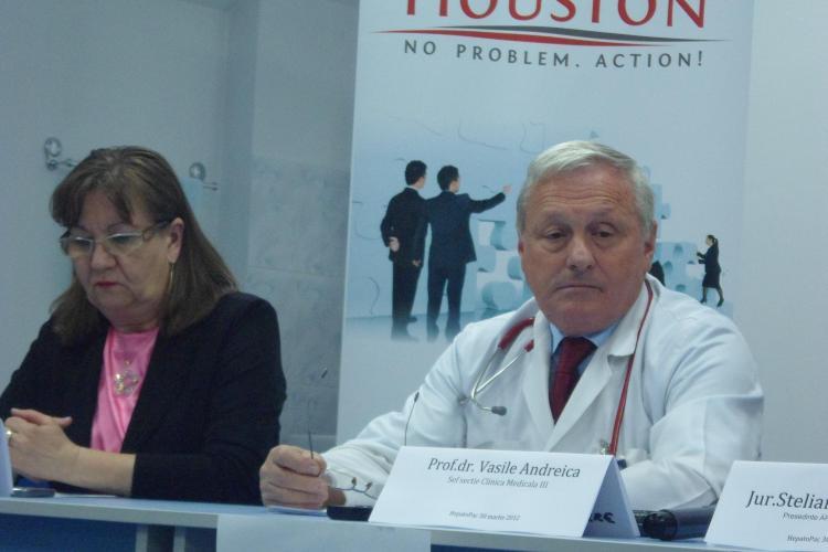 Bolnavii de hepatita B sau C discuta deschis maine cu medicii specializati din Cluj-Napoca