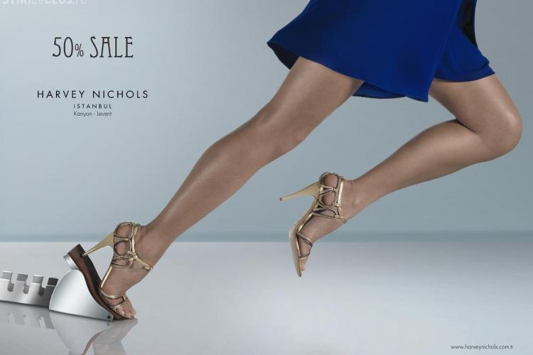 Cele mai sexy picioare din reclame FOTO