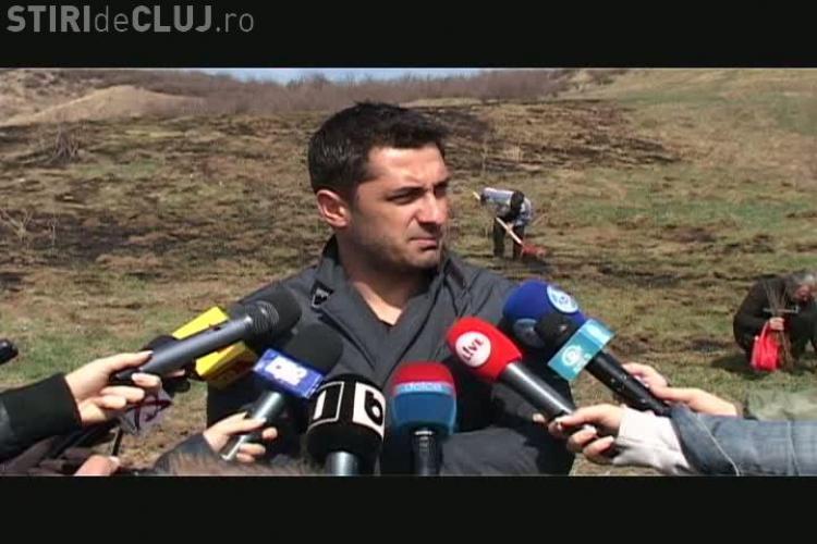 """Claudiu Niculescu a plantat copaci in Padurea Tineretului! """"Vom lua campionatul in 3 ani"""" VIDEO"""