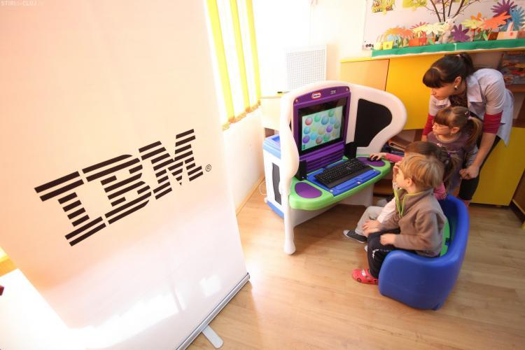 15 gradinite clujene vor utiliza programe IBM KidSmart in educatia copiilor FOTO si VIDEO