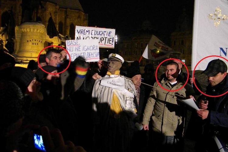 Protestatarii de serviciu din Piata Unirii, candidati pe listele USL la Consiliul Judetean Cluj