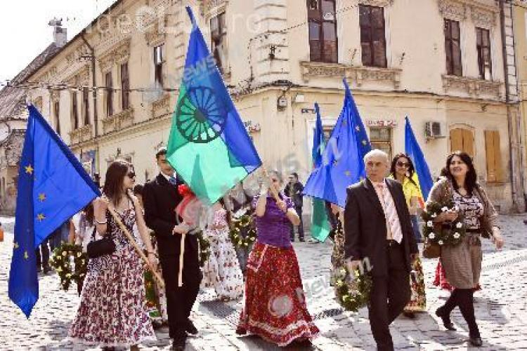 Ziua Internationala a Romilor, sarbatorita la Cluj-Napoca