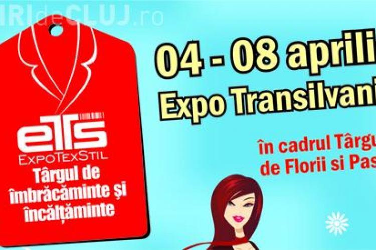 Haine si incaltaminte la cele mai mici preturi! Targul de Imbracaminte si Incaltaminte EXPO TEXSTIL revine la Cluj din 4 aprilie 2012