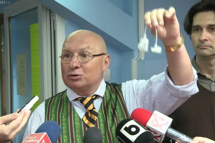 Cluj: Operatie in premiera nationala pentru pacientii care sufera de incontinenta urinara VIDEO si FOTO