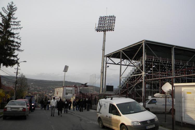 120 de jandarmi la meciul CFR Cluj - Concordia Chiajna