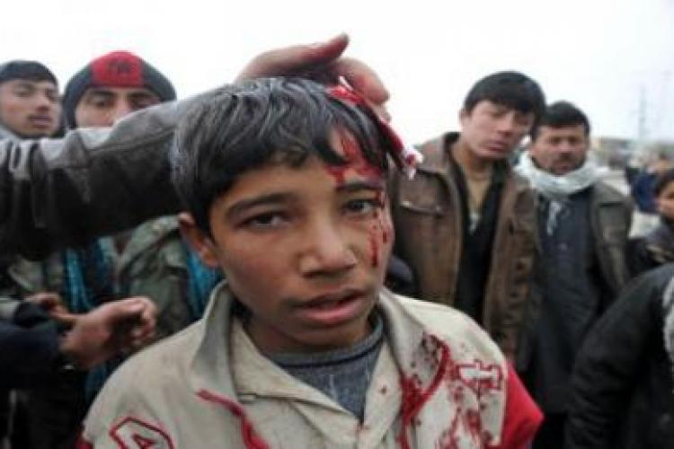 Explozii si atacuri armate in Kabul
