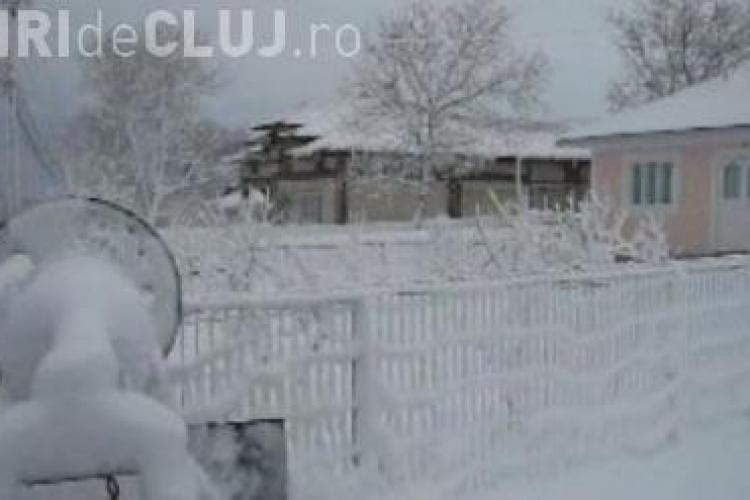 Satul ce arata ca-n povesti in luna aprilie VIDEO