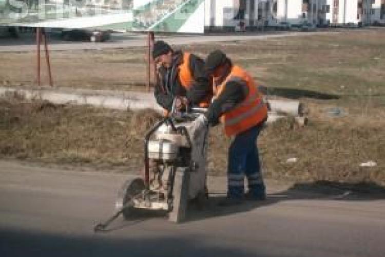 Strada Eroilor din Floresti va fi sparta pentru introducerea unei conducte de gaz