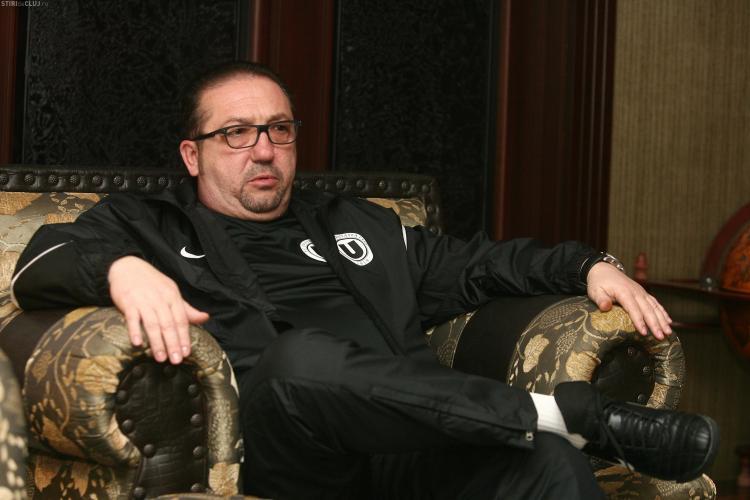 Walter i-a cerut lui Tise bani ca sa nu plece de la U Cluj! Vezi ce i-a spus seful CJ Cluj