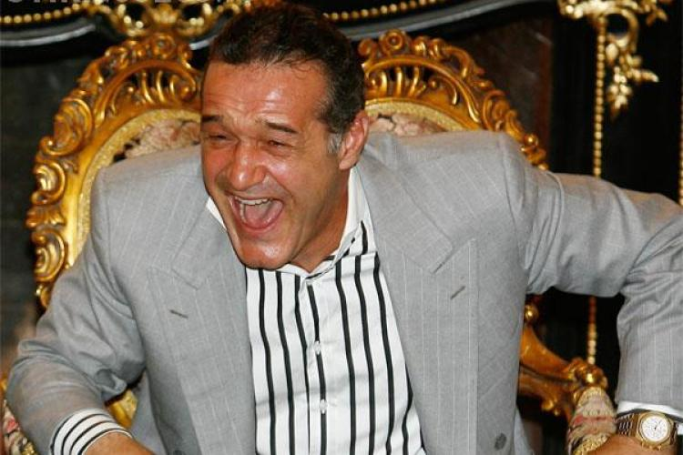 Gigi Becali, atac dur la Paszkany: Si-a parasit nevasta si copiii pentru o dansatoare