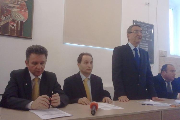 Candidatul PNTCD la sefia CJ Cluj este un conferentiar universitar de la UBB