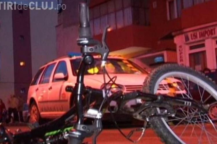 Accident in Dej, pe strada Ecaterina Teodoroiu! Un copil a fost lovit de o masina