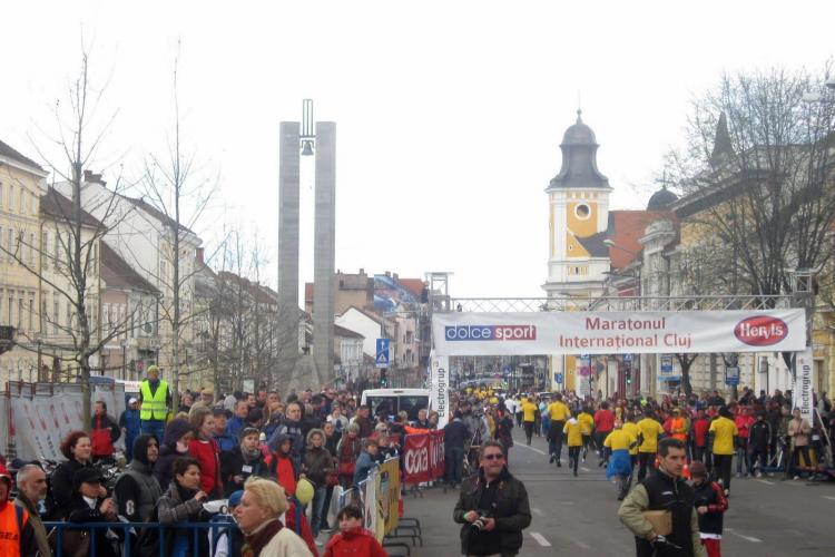 Strazi inchise cu ocazia Maratonului International Cluj