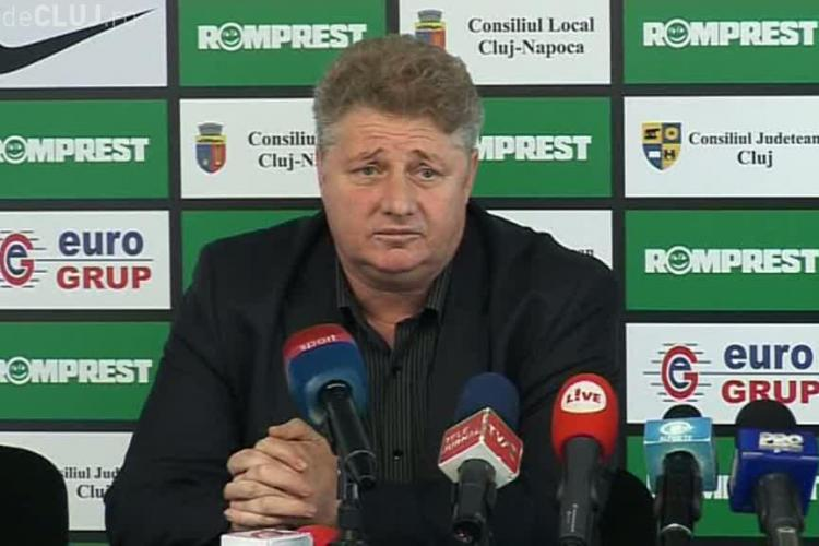"""Mamele isi lasa copiii la U Cluj si merg sa se f..."". Ioan Marginean, cel care a spus replica, isi cere scuze"