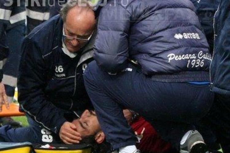 Un fotbalist a facut infarct pe teren si a murit! SOC in Italia VIDEO