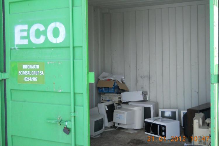 Incepe actiunea de colectare a Deseurilor de Echipamente Electrice si Electronice