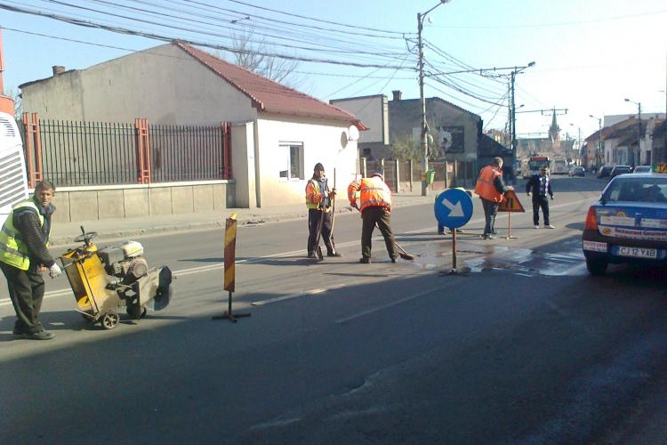 "Strada Motilor e sparta si un sens de circulatie e aproape ""mort"" FOTO"