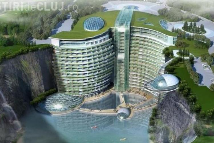 China construieste cel mai luxos hotel din lume sub pamant FOTO