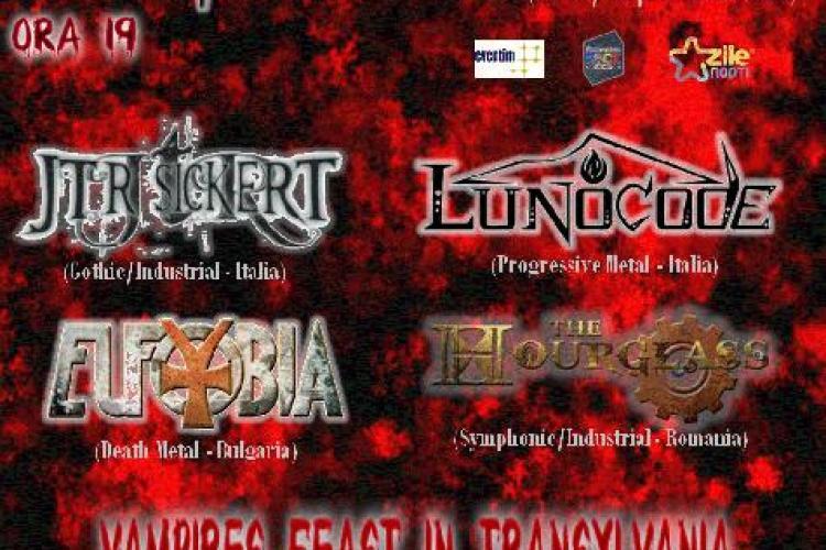 "Iubitorii trupei ""Theatres des Vampires"" sunt invitati la ""o baie de sange"", la Cluj-Napoca VIDEO"