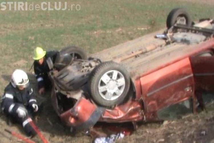 Accidentul mortal de la Fizesul Gherlii, produs de barbatul ranit gasit in masina, dar care a mintit ca soferul a fugit