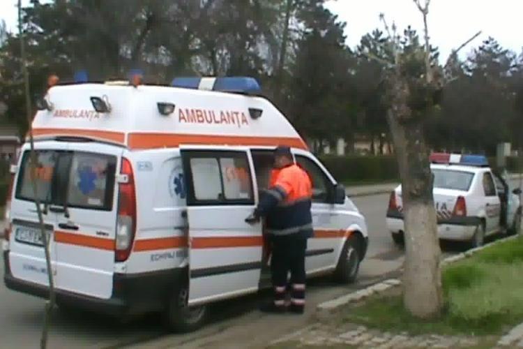 Gherla - Si-a batut fiica in strada, pana cand a bagat-o in spital VIDEO